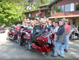 Motorcycle group packages mount snow vermont